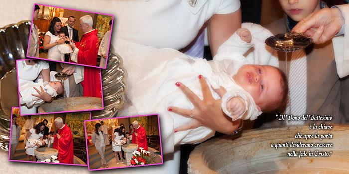 reportage del battesimo raccontato con il fotolibro